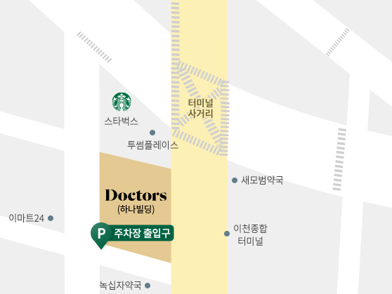 닥터스피부과 이천점 지도