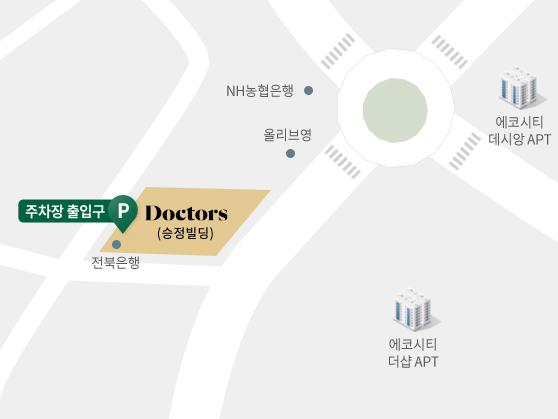닥터스피부과 전주점 지도